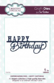 Sue Wilson Craft Dies - Expressions Collection - Happy Birthday -  CED5406